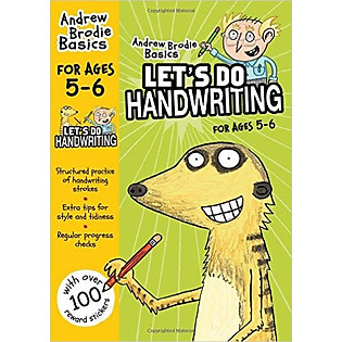 Let's Do Handwriting For Age 5 - 6