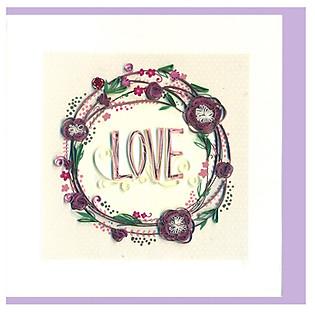 Thiệp Giấy Xoắn Việt Net - Love Valentine - Love Mẫu 2