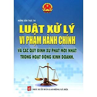 Luật Xử Lý Vi Phạm Hành Chính Và Các Quy Định Xử Phạt Mới Nhất