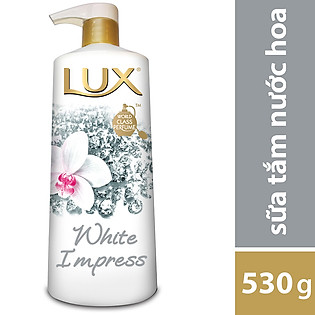 Sữa Tắm Lux White Impress Trắng 21087018 (530G)