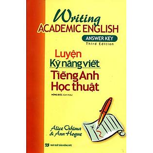 Luyện Kỹ Năng Viết Tiếng Anh Học Thuật