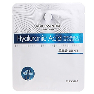 Mặt Nạ Giấy Missha Hyaluronic Acid Real Essential Sheet Mask - M1056