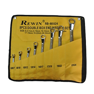 Bộ Chìa Khóa 2 Đầu Vòng Rewin RB-M5524 (8 Pcs)
