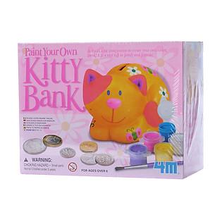 Đồ Chơi 4M Tự Làm Ống Tiết Kiệm Hình Con Mèo - 00-04520