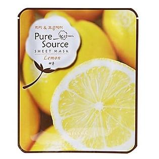 Mặt Nạ Giấy Missha Chanh Lemon Pure Source Sheet Mask - M8321
