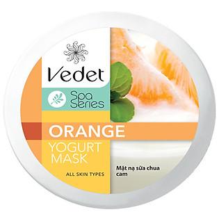 Mặt Nạ Sữa Chua - Cam Dạng Hủ Vedette Orange (145Ml)