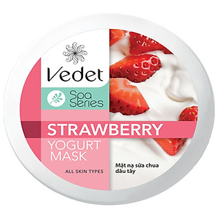 Mặt Nạ Sữa Chua - Dâu Dạng Hủ Vedette Strawberry (145Ml)