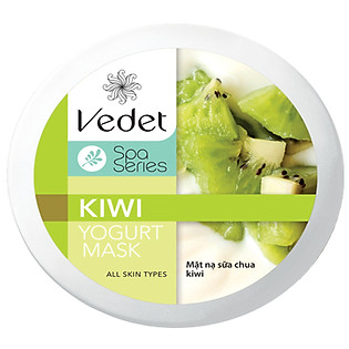 Mặt Nạ Sữa Chua - Kiwi Dạng Hủ Vedette (145Ml)