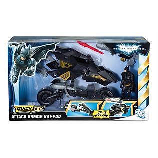 Mô Hình Mô Tô Chiến Đấu Batman Mattel - W7219
