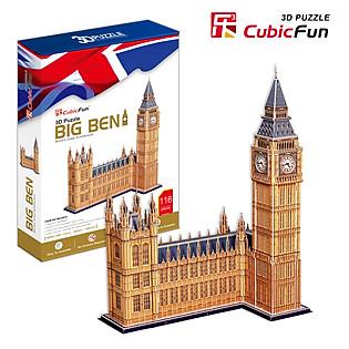 Mô Hình Giấy Cubic Fun: Tháp Đồng Hồ Big Ben [Mc087h]