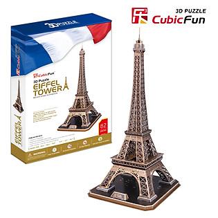 Mô Hình Giấy Cubic Fun: Tháp Eiffel [Mc091h]