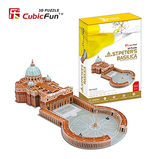 Mô Hình Giấy Cubic Fun: St. Peter's Basilica - Vatican [Mc092h]