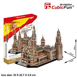 Mô Hình Giấy Cubic Fun: Cathedral Of Santiago De Compostela [Mc184h]