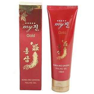 Tẩy Tế Bào Chết Hồng Sâm My Gold Korea Red Ginseng Peeling Gel (130Ml)
