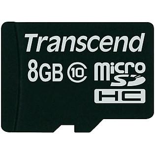 Thẻ Nhớ Micro SD Transcend 8GB Class 10