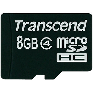 Thẻ Nhớ Micro SD Transcend 8GB Class 4