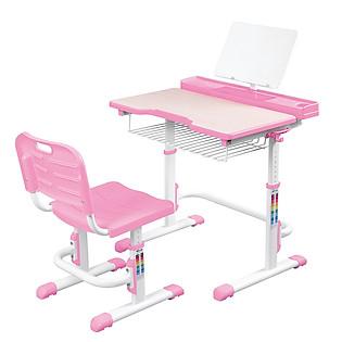 Bộ Bàn Học Thông Minh Best Desk Midi – Hồng