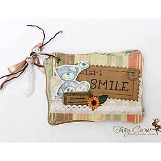 Mini Album Pattern - Let's Smile