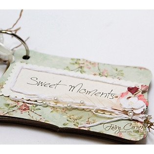 Mini Album Pattern - Sweet Moments