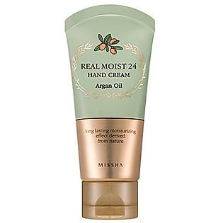 Dưỡng Da Tay Missha Moist 24 Hand Cream Argan Oil M3801
