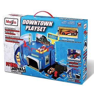 Mô Hình Xe FM Downtown Playset Maisto - MT12127