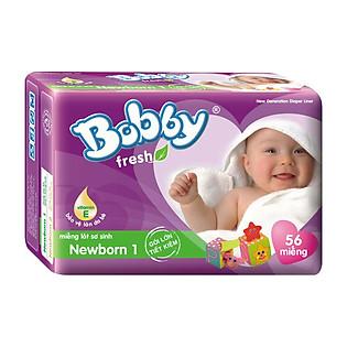 Miếng Lót Bobby Fresh Newborn 1 (56 Miếng)