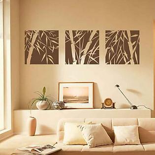 Decal Dán Tường Ninewall Bamboo Wall Murals DA003