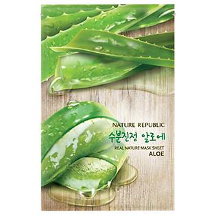Mặt Nạ Đắp Từ Lô Hội Nature Republic Real Nature Aloe Mask Sheet