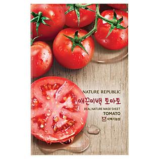 Mặt Nạ Đắp Từ Cà Chua Nature Republic Real Nature Tomato Mask Sheet