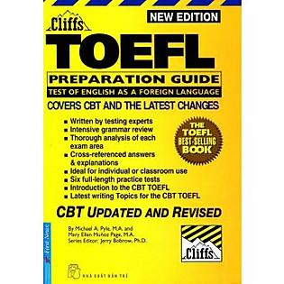New Cliffs Toefl Guide 2001 - 2002 (Tái Bản) - Kèm CD