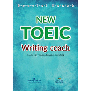 """New TOEIC - Writing Coach (Gồm Course Book, Answer Key)"""
