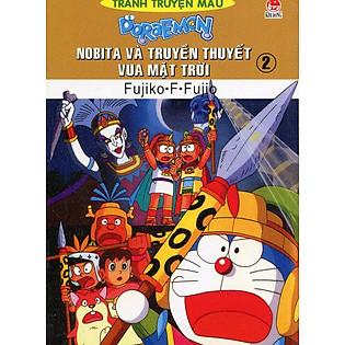 Nobita Và Truyền Thuyết Vua Mặt Trời - Tập 2