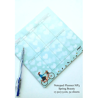 Notepad Planner Spring Beauty - NP3