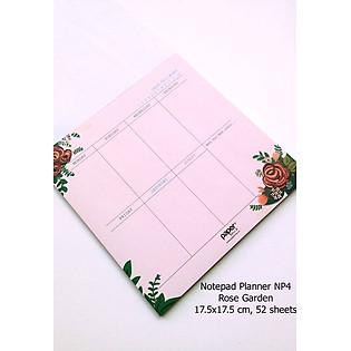 Notepad Planner Rose Garden - NP4