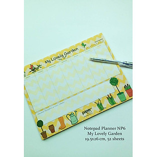 Notepad Planner My Lovely Garden - NP6