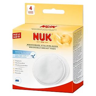 Khăn Thấm Sữa Giặt Được (4 Miếng) Nuk - 252080