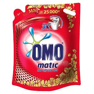 """""""Nước Giặt OMO Matic Cho Máy Cửa Trên Túi 2,7Kg - 21122476"""""""