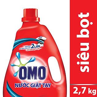 Nước Giặt Tay OMO Chai Đỏ (2.7Kg) - 21163165