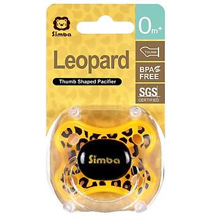 Ngậm Nướu Simba Hình Ngón Cái Họa Tiết Da Beo P18020