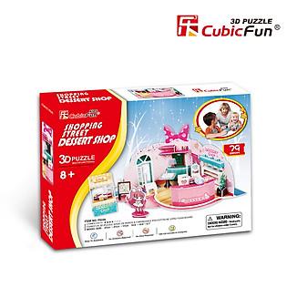 Mô Hình Giấy Cubic Fun: Dessert Shop [P624h]