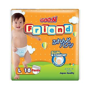 Tã Quần GOO.N Friend L18 (9-14 Kg)