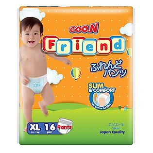 Tã Quần GOO.N Friend XL16 (12-17 Kg)
