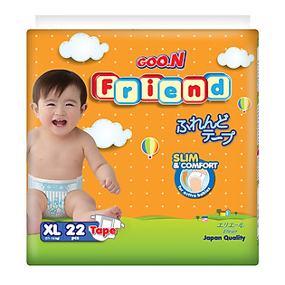 Tã Giấy GOO.N Friend XL22 (11-16 Kg)