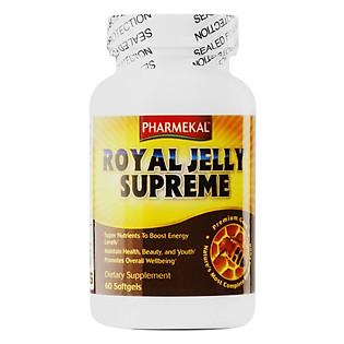 Thực Phẩm Chức Năng Sữa Ong Chúa Royal Jelly Pharmekal 1000G (60V)