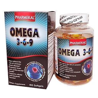 Thực Phẩm Chức Năng Viên Uống Omega 369 Pharmekal (100V)