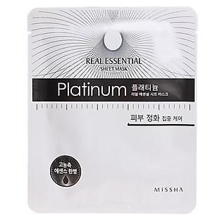 Mặt Nạ Giấy Missha Platinum Real Essential Sheet Mask - M1051