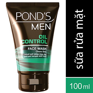 Sữa Rửa Mặt Dành Cho Nam Pond's Men Oil Control (100G) - 21129825