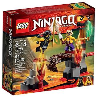 Mô Hình LEGO Ninjago - Thác Nham Thạch 70753