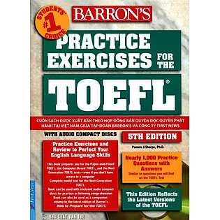 Practice Exercises For The TOEFL Ibt (5Th Edition)