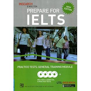 Prepare For Ielts General Training Moduletests (Kèm CD) - Khổ Lớn